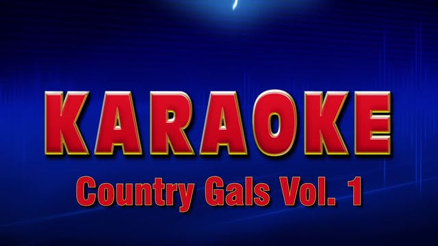 Lightning Round Karaoke - Country Gal...