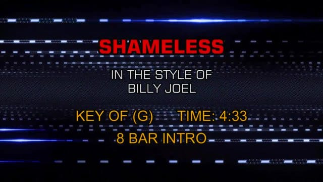 Billy Joel - Shameless