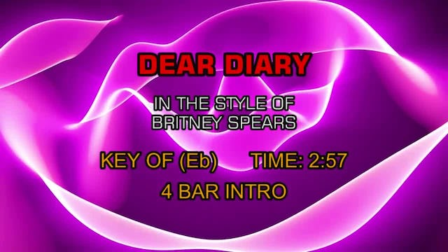 Britney Spears - Dear Diary