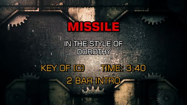 Dorothy - Missile (clean)