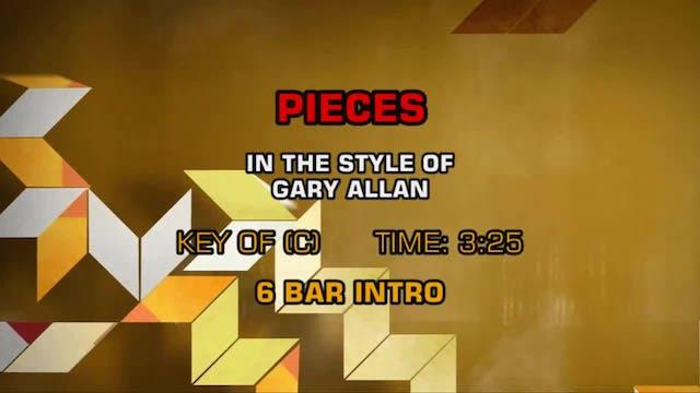 Gary Allan - Pieces