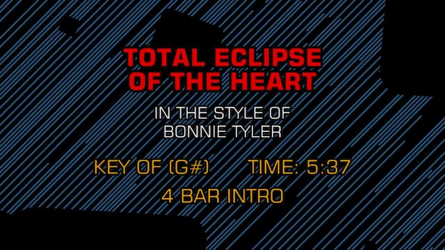 Bonnie Tyler - Total Eclipse Of The H...