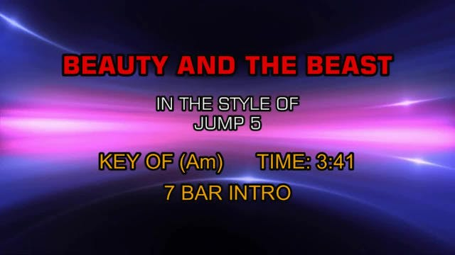 Jump 5 - Beauty And The Beast