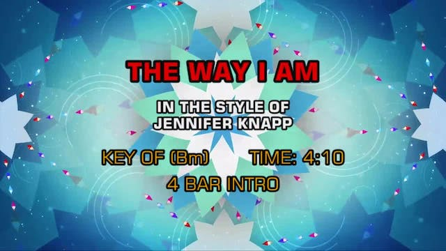 Jennifer Knapp - Way I Am, The