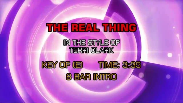 Terri Clark - Real Thing, The