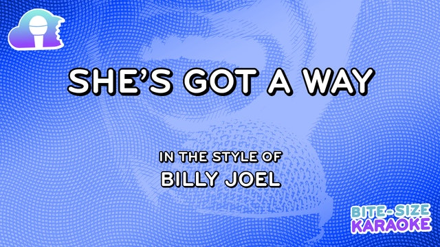 BSK - She's Got A Way - Billy Joel