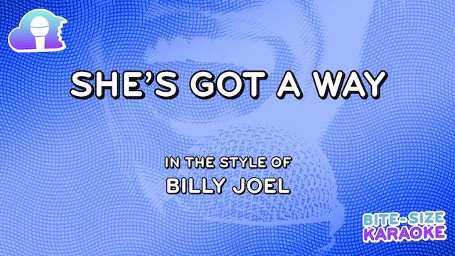 BSK - She's Got A Way - Billy Joel