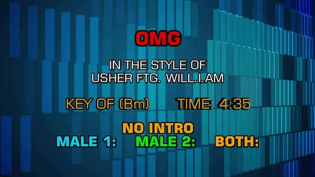 Usher - OMG