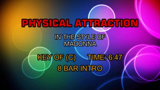 Physical Attraction - Madonna