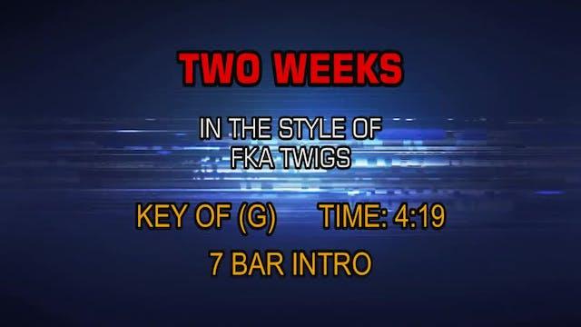 FKA Twigs - Two Weeks