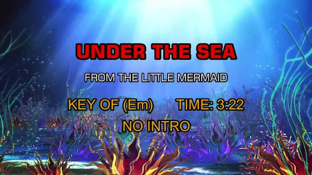 From The Little Mermaid - Under The Sea
