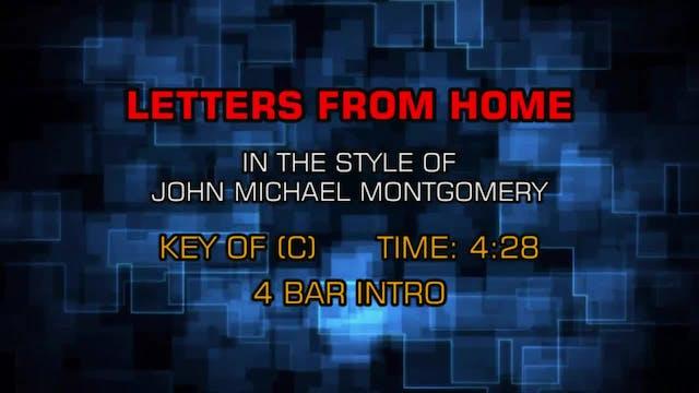 John Michael Montgomery - Letters Fro...