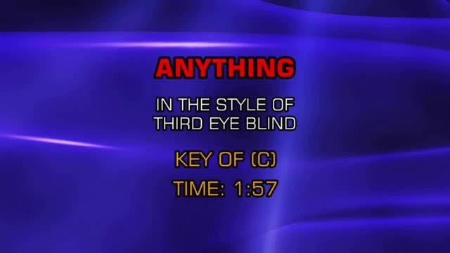 Third Eye Blind - Anything
