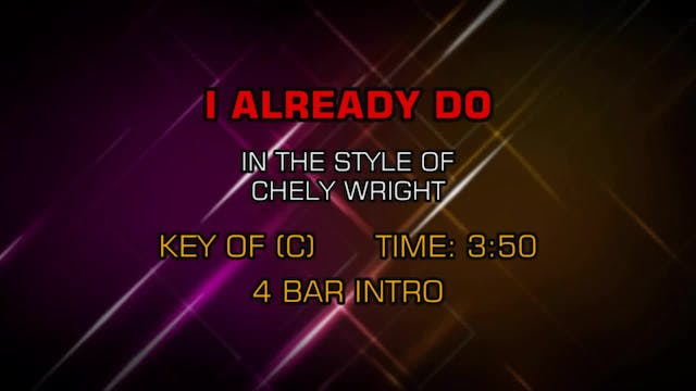 Chely Wright - I Already Do