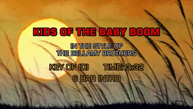 Bellamy Brothers, The - Kids Of The B...