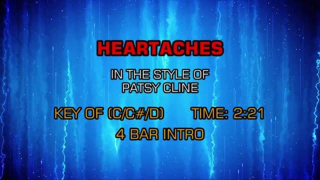 Patsy Cline - Heartaches