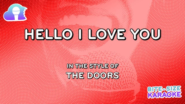 BSK - Hello I Love You - The Doors