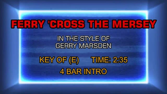 Gerry Marsden - Ferry 'Cross The Mersey