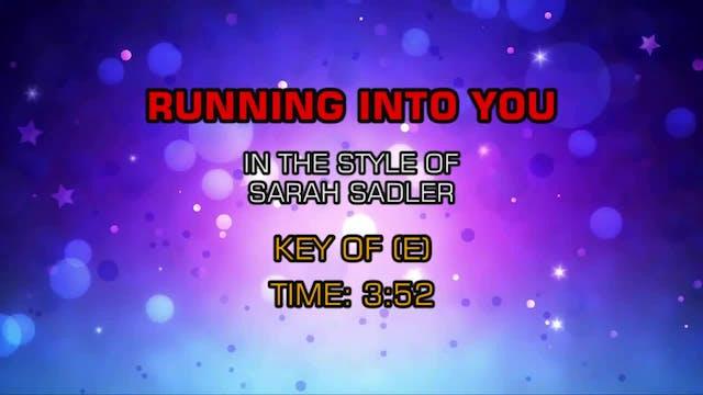 Sarah Sadler - Running Into You