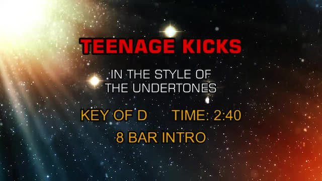 Undertones, The - Teenage Kicks