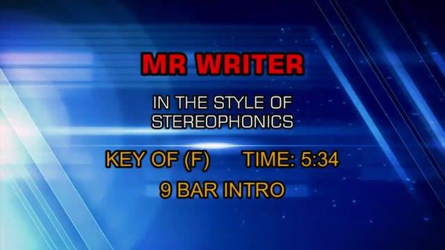 Stereophonics - Mr. Writer