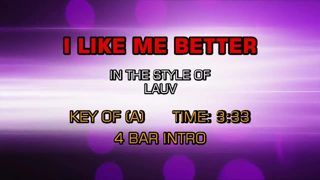 Lauv - I Like Me Better