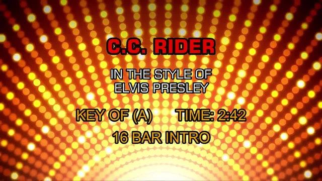 Elvis Presley - C. C. Rider