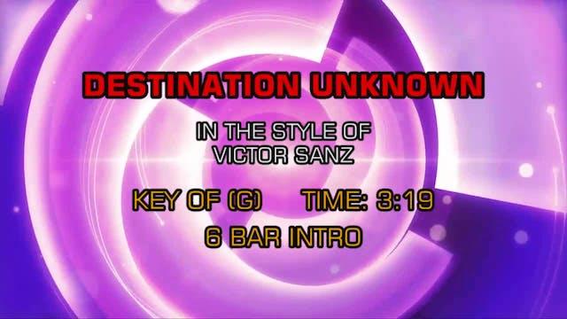Victor Sanz - Destination Unknown