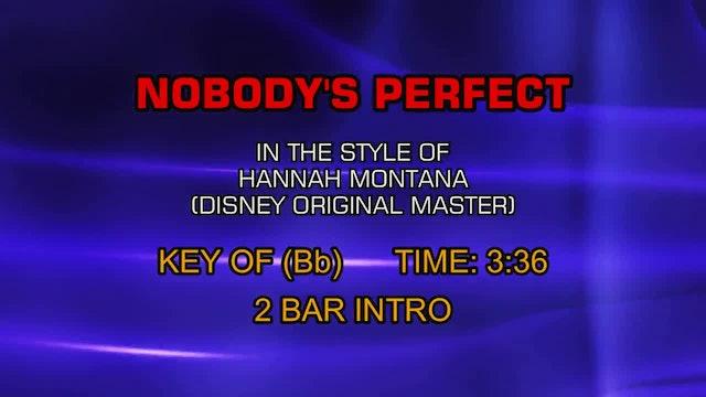Hannah Montana (Disney Original Master) - Nobody's Perfect