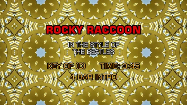 The Beatles - Rocky Raccoon