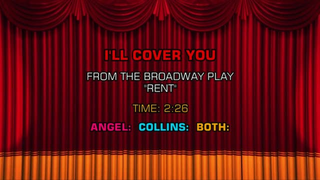 Songs From Rent - I'll Cover You