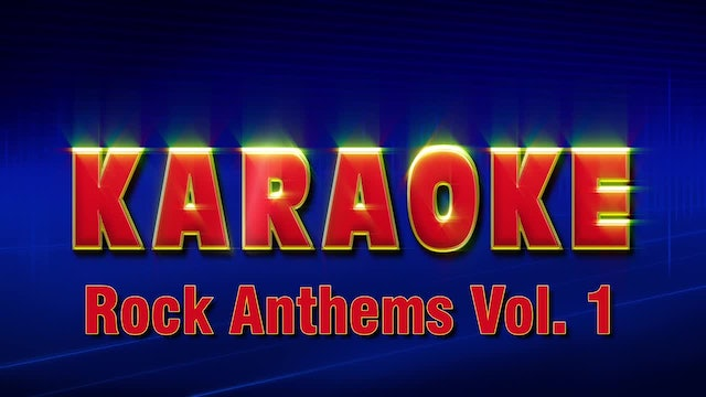 Lightning Round Karaoke - Rock Anthems Vol. 1