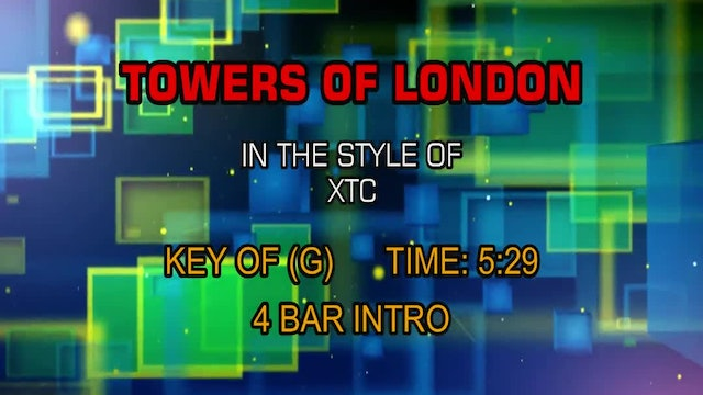 Xtc - Towers Of London