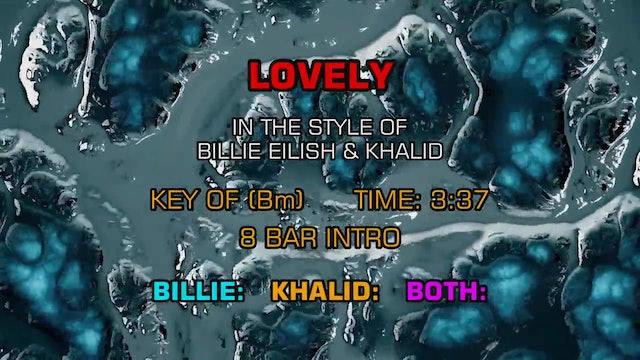Billie Eilish and Khalid - Lovely