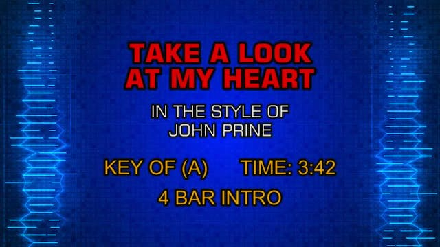 John Prine - Take A Look At My Heart