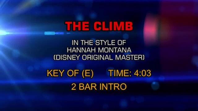 Hannah Montana (Disney Original Master) - The Climb
