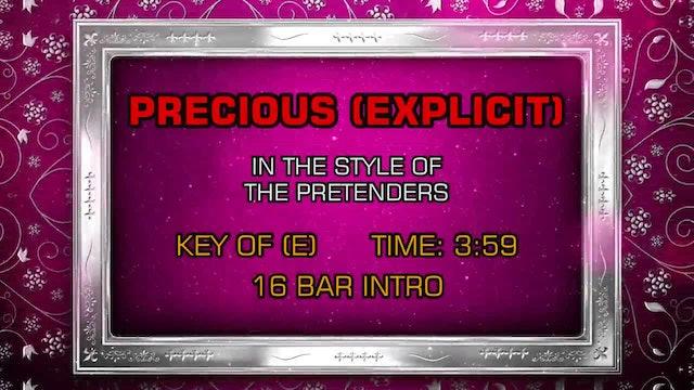 The Pretenders - Precious (Explicit)