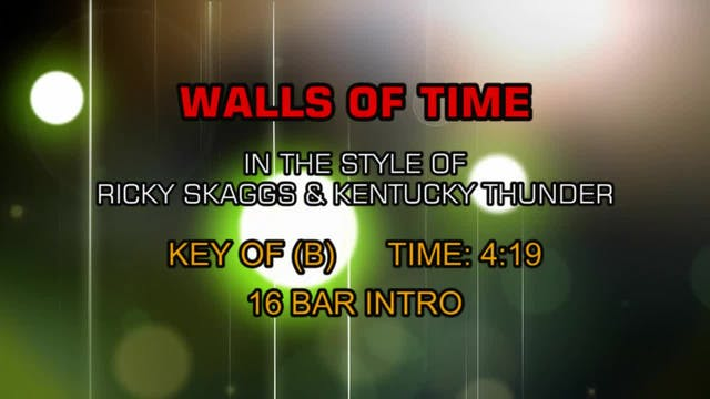 Ricky Skaggs - Walls Of Time