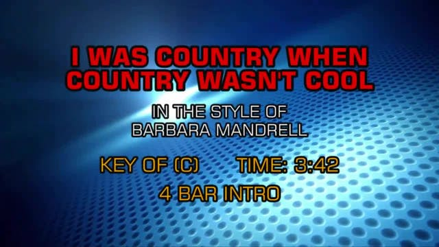 Barbara Mandrell - I Was Country When...