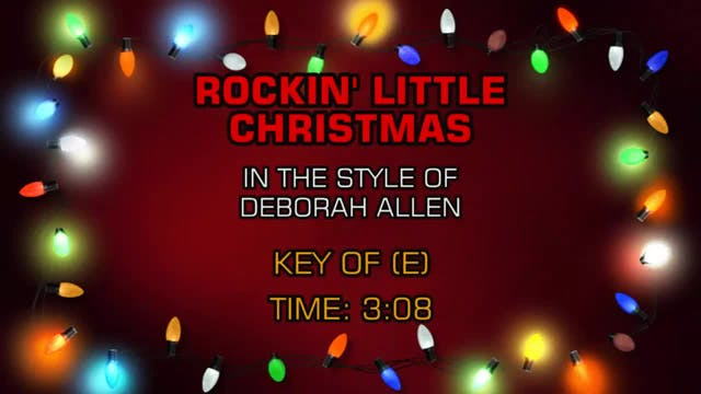 Deborah Allen - Rockin' Little Christmas