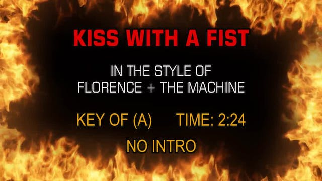 Florence + The Machine - Kiss With A ...