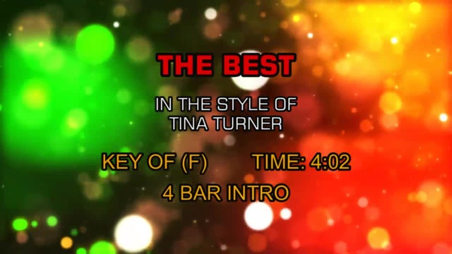 Tina Turner - Best, The