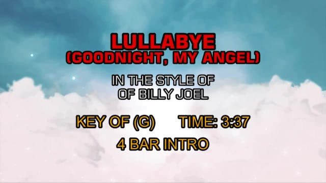 Billy Joel - Lullabye (Goodnight My Angel)