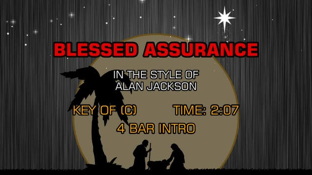 Alan Jackson - Blessed Assurance