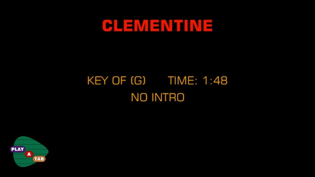 Standard - Clementine - Play A Tab