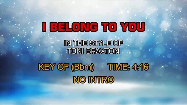 Toni Braxton - I Belong To You