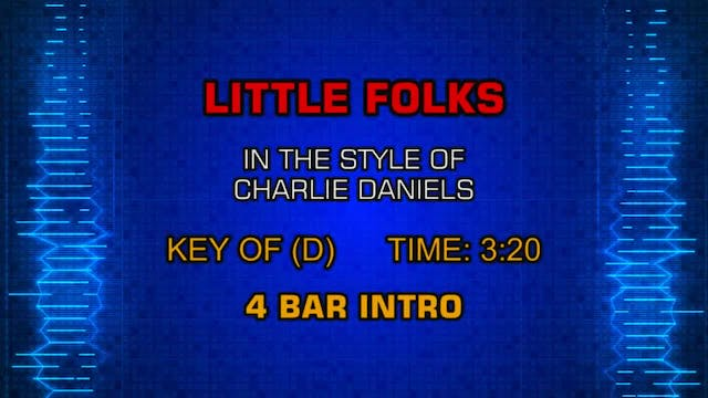 The Charlie Daniels Band - Little Folks