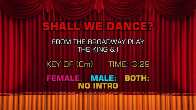 The King & I - Shall We Dance