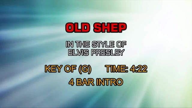 Elvis Presley - Old Shep