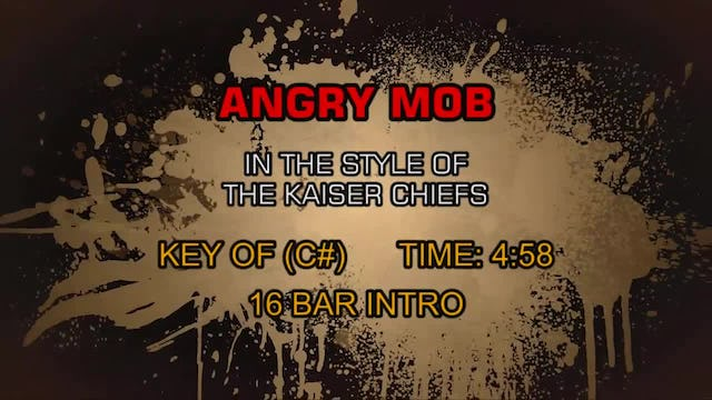 The Kaiser Chiefs - Angry Mob
